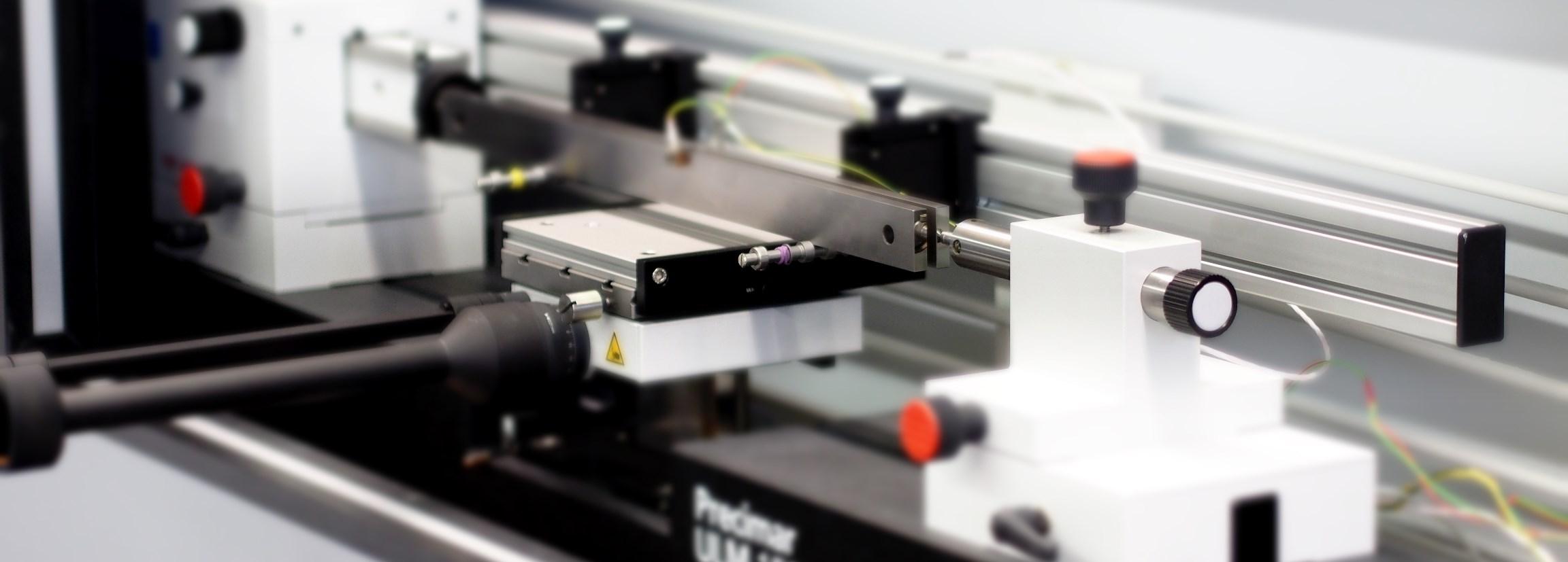 Kalibrierung von Parallelendmaßen von 0,1 mm bis 1000 mm